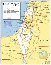 Map Of Nevada And Surrounding States Map Of Israel And Surrounding Countries Political Map Of Israel