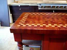 patterned end grain wood countertops brooks custom