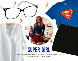 Halloween Costumes Supergirl Affordable Halloween Costume Ideas Zenni Optical