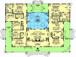 style courtyards style home plans awesome hacienda courtyard