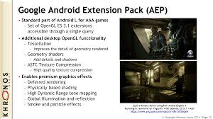 android opengl opengl siggraph 2014 update opengl 4 5 opengl es 3 1 more
