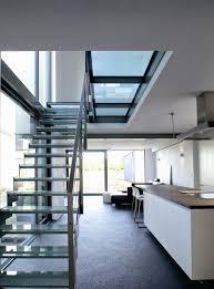 trap en passerelle in glas trappen modern pinterest