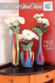 Cheap Glass Flower Vases Best 25 Diy Painted Vases Ideas On Pinterest Painted Vases Diy