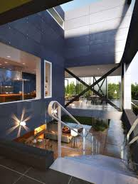 glass box architecture modern home designs stunning hollowed center of the glass box
