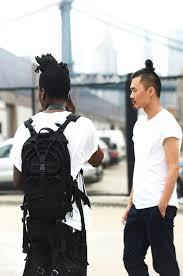 top knot hairstyle men the undercut bun aka the top knot