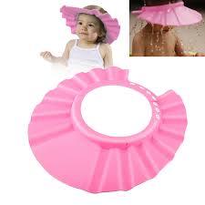 zodaca baby kid children soft shampoo bath shower cap hat eva foam