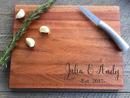 engraved cutting board wedding gift custom cutting board wedding gift personalized cutting wood