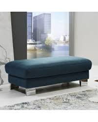 pouf bout de canapé canapé méridienne tissu 2 assises relax électrique pouf coffre