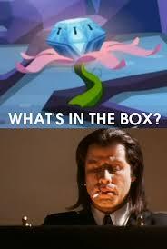 Whats In The Box Meme - 479981 exploitable meme john travolta mystery box of plot