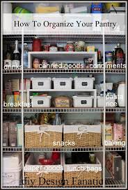 Ideas To Organize Kitchen The 25 Best Organize Food Pantry Ideas On Pinterest Kitchen