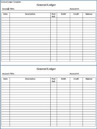 Journal Entry Template Excel General Ledger Template Excel Ledger Template Excel General