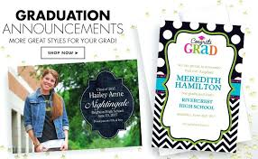 personalized graduation announcements custom graduation invitations together with flowing garden foil