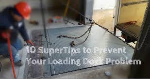 repairs for kelley dock leveler plate equipment