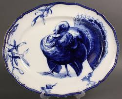 ceramic turkey platter 122 turkey platter and plate doulton burslem