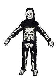 Amazon Halloween Costumes Girls Amazon Skeleton Costume Boys Kids Light Halloween Size