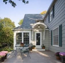 colonial revival portico exterior traditional with covered entry