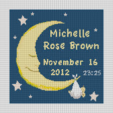 birth announcements needlepoint kits and canvas designs