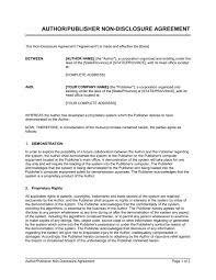non disclosure agreement beta tester template u0026 sample form