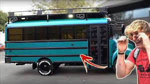 logan paul car logan paul new cool bus full reveal youtube