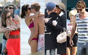 young celebrity couples famous blossoming lovebirds in hollywood