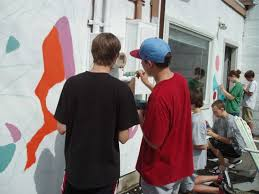 tips for projecting an image on a wall to paint a mural creative how to project a mural on a wall