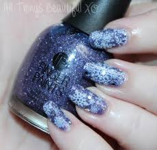 winter snowflakes nail art with finger paints gogh with the flow