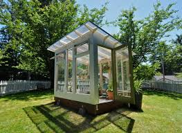 modern green house studio sprout 8x10 greenhouse modern shed portland by