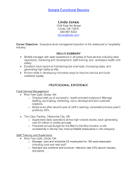 Job Resume Objective Restaurant by Factory Worker Resume Objective Resume For Your Job Application