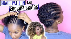what type of hair to do crochet braid how to braid your hair for crochet braids detailed braid pattern