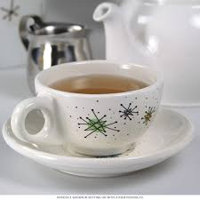 Atomic Home Decor by Atomic Starburst Sputnik Coffee Cup Set Vintage Style Tableware