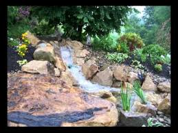 Backyard Pond Ideas With Waterfall Soergel U0027s Aquascapes A Water Garden Paradise In Your Backyard
