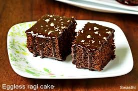 Ragi Chocolate Cake Eggless Finger Millet Chocolate Cake Recipe