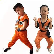 Halloween Japanese Costumes Children U0027s Anime Dragon Ball Monkey Cosplay Costumes Boys Son