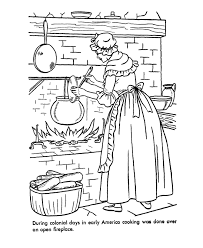 colonial boy coloring page early american home life coloring page felicity colonial america