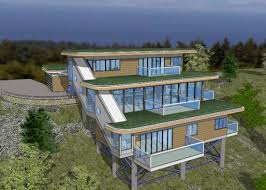 slope house plans stunning inspiration ideas house plans steep slope 11 hillside