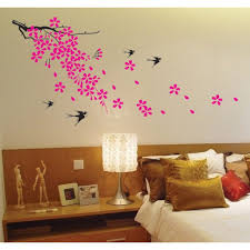 bedroom decor decorations chic bedroom wall sticker idea showing