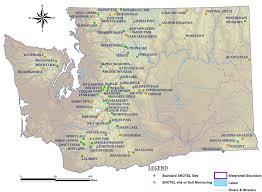 map of washington clickable map of washington snotel nrcs oregon