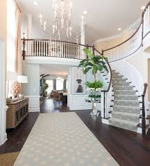 Houzz Entryway Grand Entryway Design With Hardwood Floors And Chandiliers Linda
