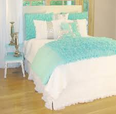 Turquoise Bed Frame Bedding Set Turquoise And White Bedding Sets Turquoise Bedding