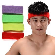 sports hair bands yingtouman 3pcs lot sports safety sweat headbands sweatband