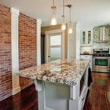 exposed brick kitchen design ideas