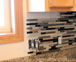 How To Do Tile Backsplash In Kitchen Tile Shop Tuesday Applying Tile All Things G U0026d