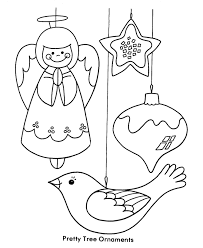 free printable ornaments coloring home