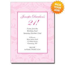 21st birthday invitations orionjurinform com