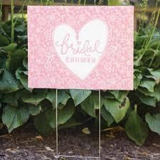 bridal shower signs bridal shower yard sign wedding directional signs decorations
