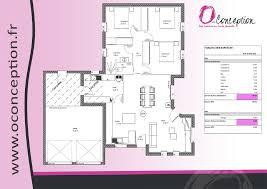 modele maison plain pied 3 chambres plan de maison de plain pied 3 chambres beautiful plan de maison
