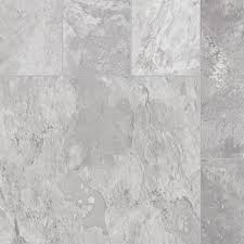 Vinyl Sheets Home Depot by Trafficmaster Quarry Stone Slate Grey 13 2 Ft Wide X Your Choice