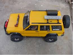 jeep cherokee yellow 99959 axial from wyoming showroom axial scx10 now a jeep