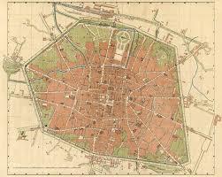 map of bologna bologna italy map 1890 vintage maps
