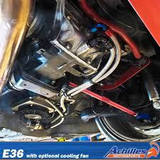 oil cooler fan kit achilles motorsports differential oil cooler kit with tru cool cooler